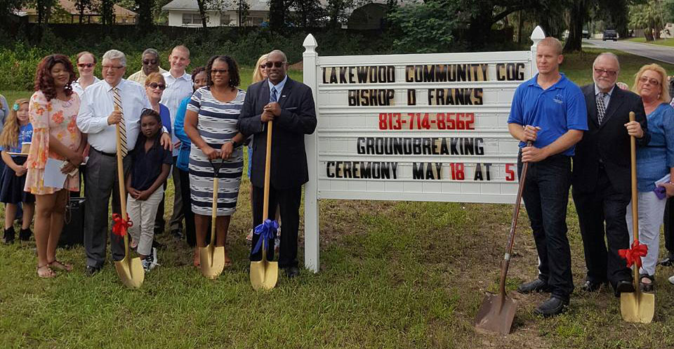 We've Broken Ground on our new Church location!