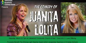 Comedy Night with Juanita Lolita March 23 @ Lakewood Community Church of God